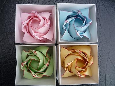 ... 折り紙とその折り方【origami